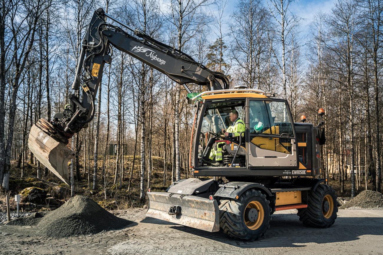 Nybergs maskiner VOLVO EW150E